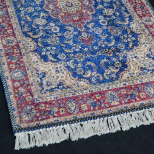 Silk Carpet Persian Design Collection Blue  – Living Room Rug -Avioni