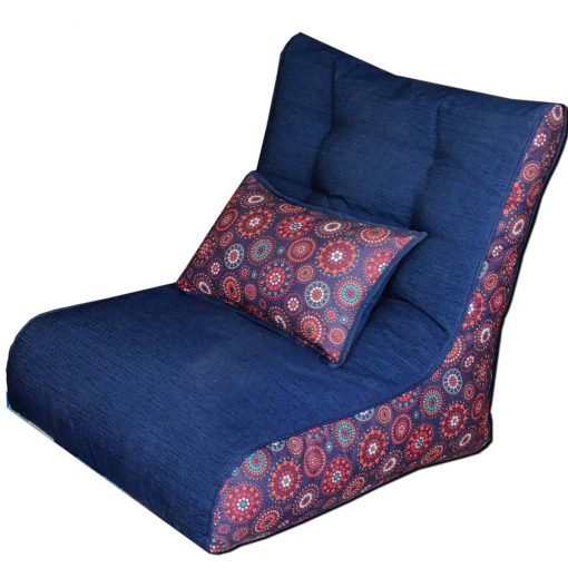 Bean Chair | XXL Bean Bag | Beans & Back Cushion Included | BIGMO