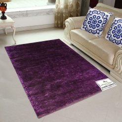 Fur Rug For Living Room| Purple|By Avioni|92×152 cm|3×5 Feet