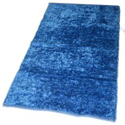 Fur Rug For Living Room|Aqua|By Avioni|92×152 cm|3×5 Feet