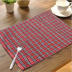 Avioni Cotton Table Mats Easy to wash- (Set of 6)