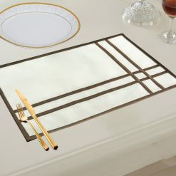 Avioni 100% Cotton Table Mats easy to wash in gift packing ( Set of 6)