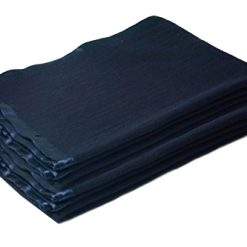 Wool Blankets  – Navy Blue With Ultra Satin On Borders- set of 2 Blankets – MSF Combo Price