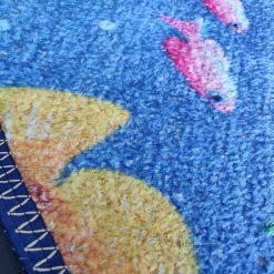 Avioni Carpet For Kids Room – Round -Ocean Blue
