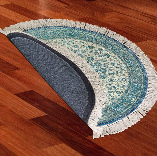 Avioni Persian Carpets For Living Room – Round -Green