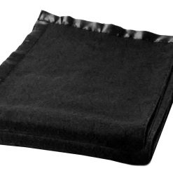 Blankets for Winter – Wool – Black With Ultra Satin On Borders – set of 2 blankets – MSF @ Combo Price