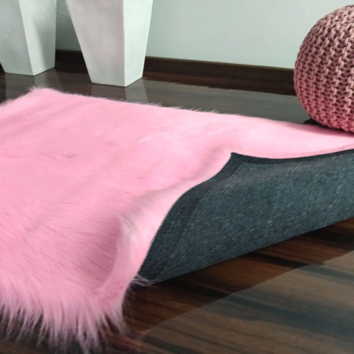 Soft Shaggy Rugs  – Fluffy Rug  –  Pink Premium Long Fur – Avioni Carpets