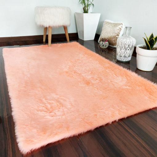 Soft Shaggy Rugs  – Fluffy Rug  –  Pink Premium Fur – Avioni Carpets