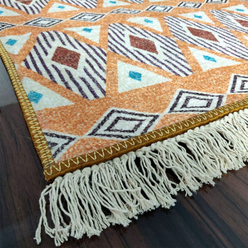 Avioni Faux Silk Carpet Ethnic Premium Boho Living Room Rug
