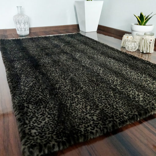 Soft Shaggy Luxury Rugs  – Fluffy Rug  –  Animal Print Premium Fur – Avioni Carpets