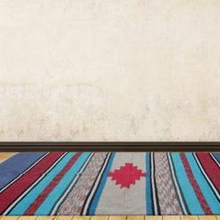Avioni Handloom Cotton and Chenille Durries – 122 cm x 183 cm (4 x 6 feet)