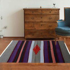 Avioni Handloom Cotton and Chenille Multicolor Durries- Assorted Colours – 122 cm x 183 cm (4 x 6 feet)