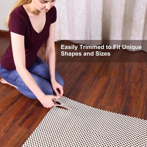 Original Area Rug Gripper Pad for  Floors, Provides Protection and Cushion for Area Rugs and Floors-122×182 cm (4×6 Feet)