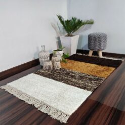 Avioni Carpets for Living Room/Pooja Room – Neo Modern Collection Brown Gradients Carpet/Rug – 92x 152 cm (3×5 Feet)
