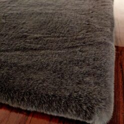 Soft Shaggy Premium Super Soft Luxury Rugs  – Grey – Avioni Carpets