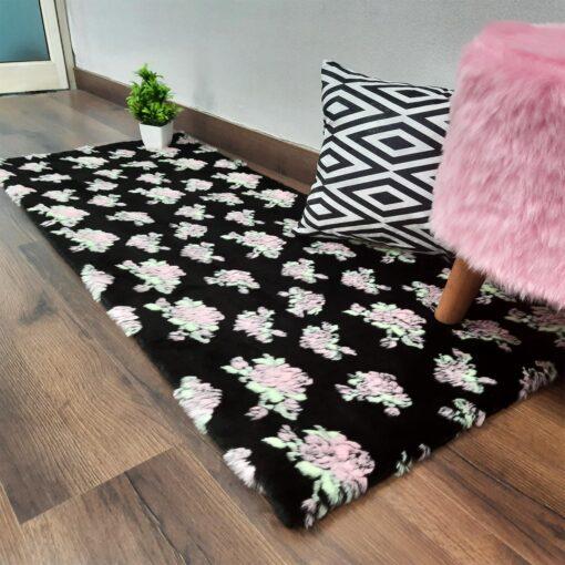 Loomkart Avioni fur carpet for bedroom